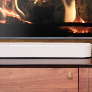 Einsteiger-Soundbars: Sonos Beam White-TV