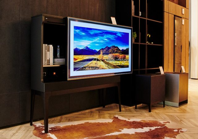 TV und Design LG Furniture Concept Appliances
